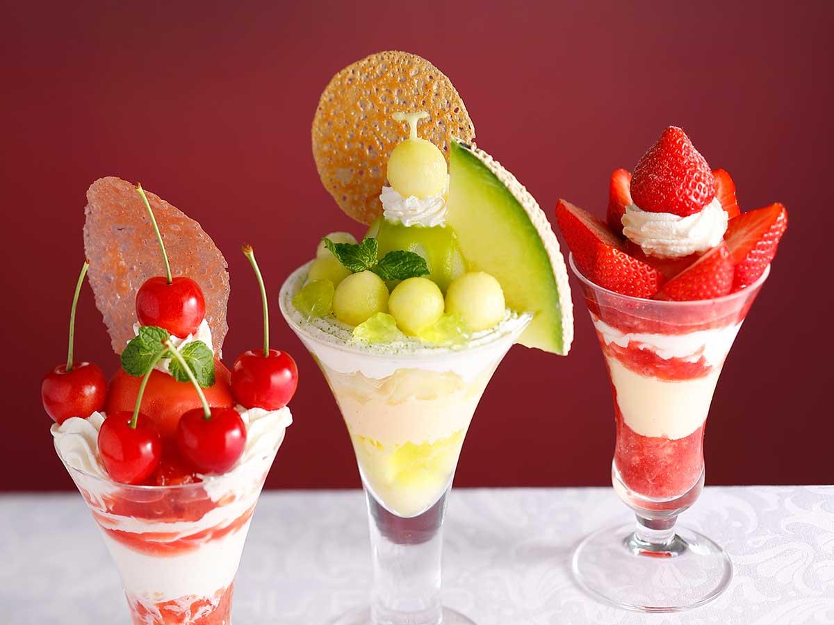 極上フルーツを贅沢パフェに! 銀座『資生堂パーラー』で味わいたい限定パフェ3選