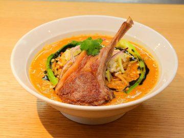 """ラム肉天国! """"かつや""""が仕掛ける新業態『東京ひつじ食堂』で極上の「担々麺」を食べてきた"""