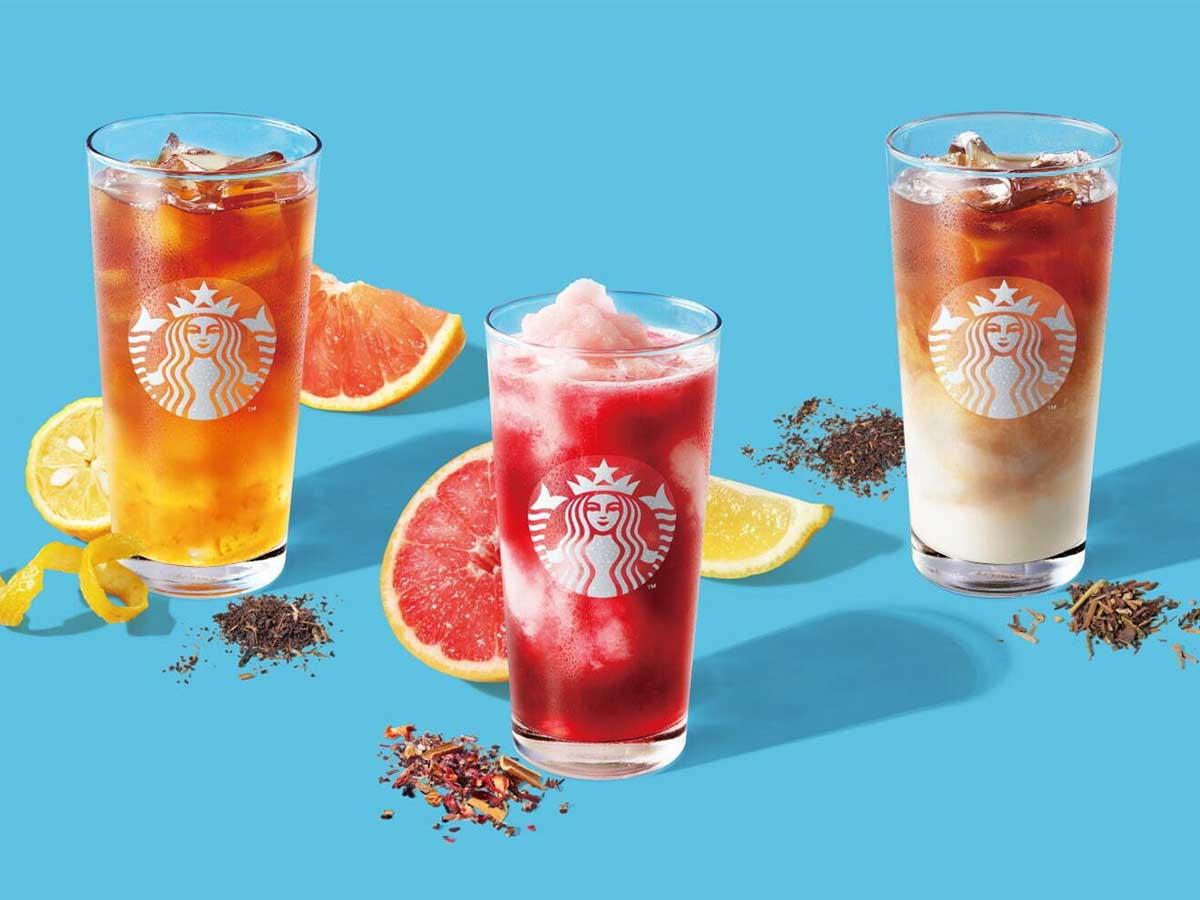 夏に飲みたいスタバの新作ティー&店舗限定ドリンク6選