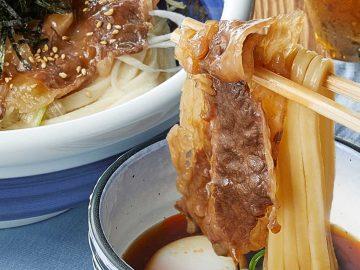 売切れ必至! 丸亀製麺に神戸牛を使った「つけうどん」と「焼肉丼」が登場