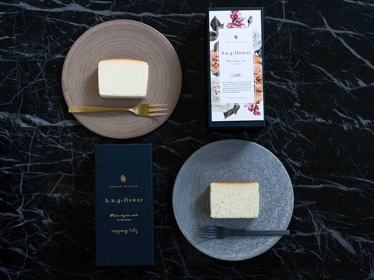 「チーズテリーヌ」6個入り3800円、1ピース800円