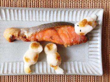 猫好きが悶絶する可愛さ 100均の「大根おろしニャン」で料理が10倍楽しくなる!