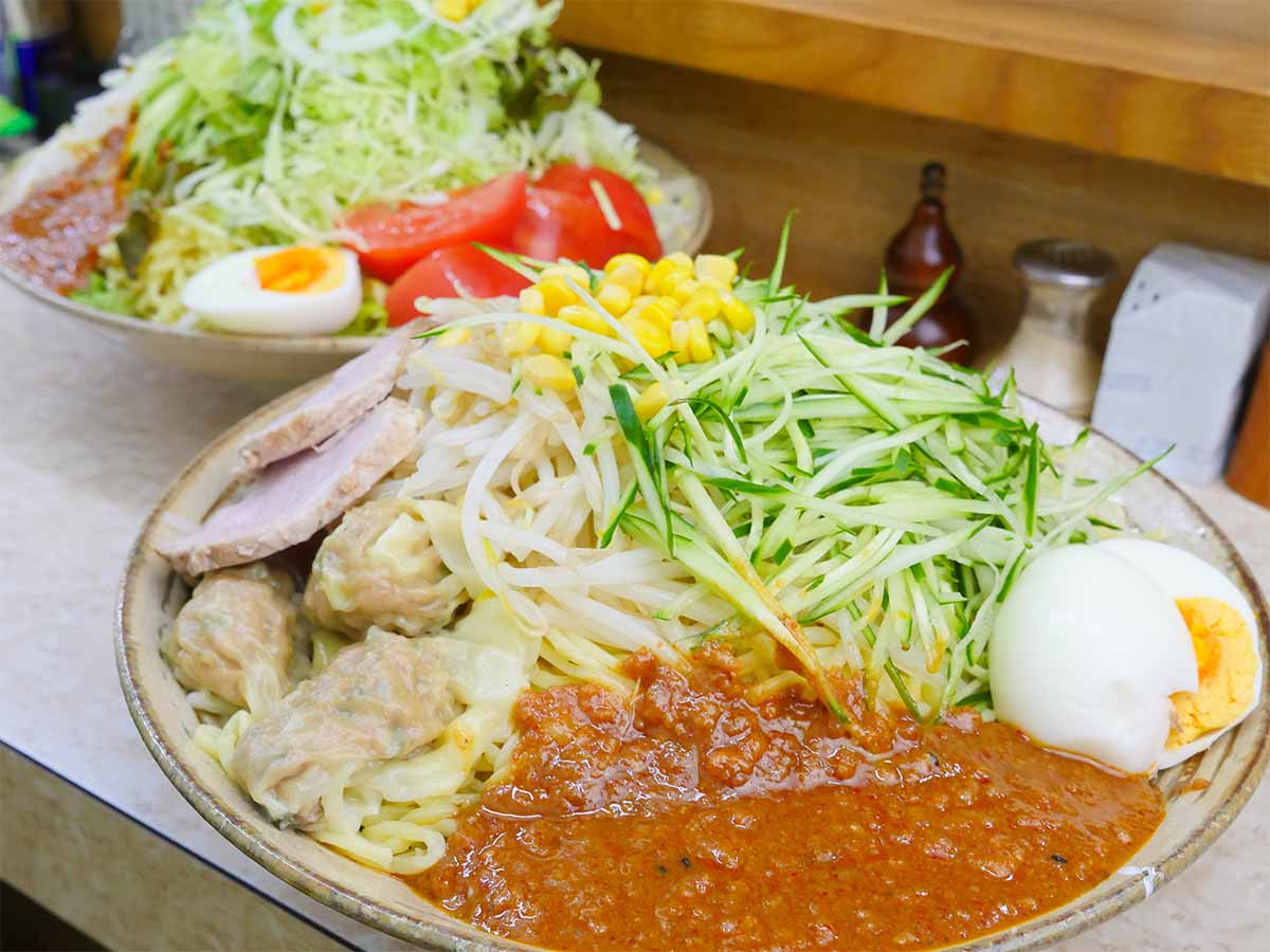 ジャージャー麺が約2kg!? 老舗『熊公』(日本橋)のデカ盛り麺に挑戦してきた