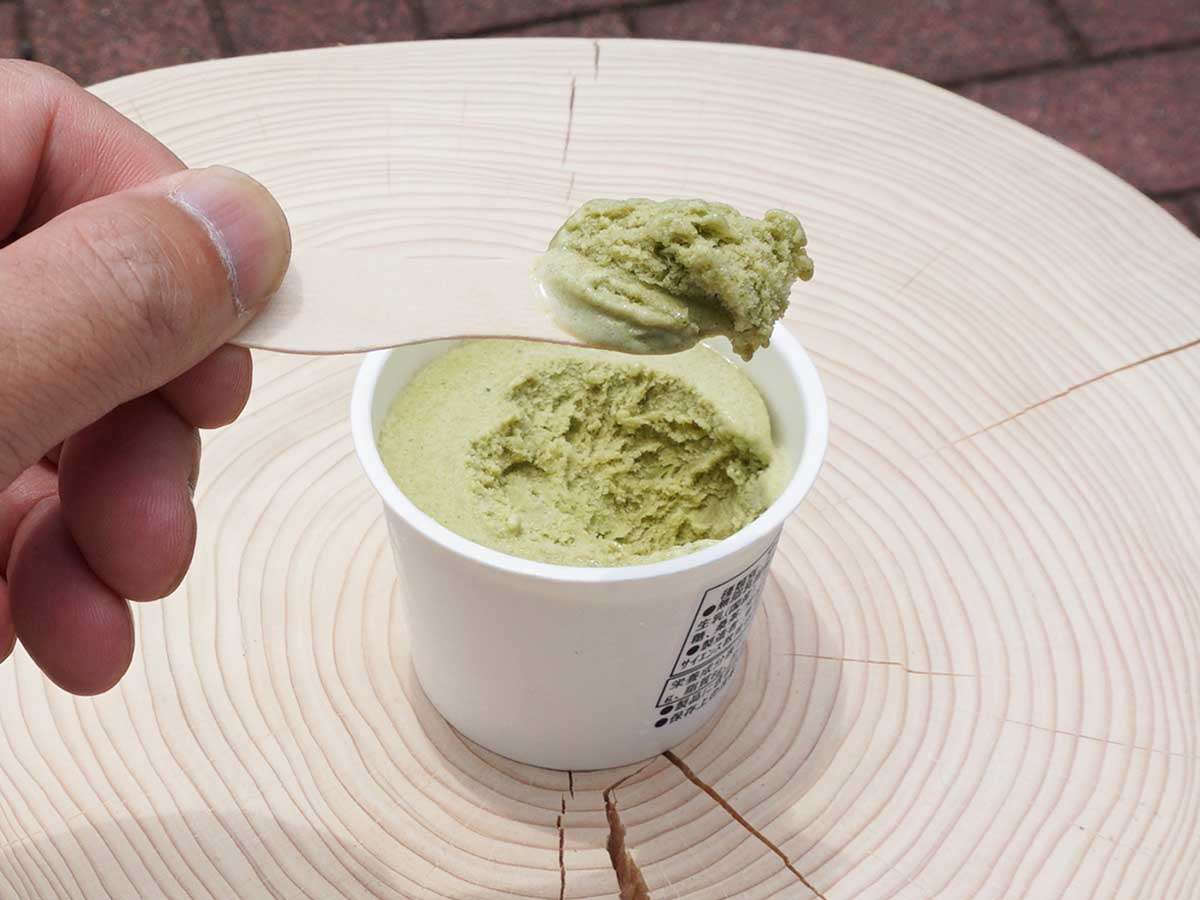 東京農工大学の学生たちが生んだ「桑の葉茶アイス」が絶品すぎる!