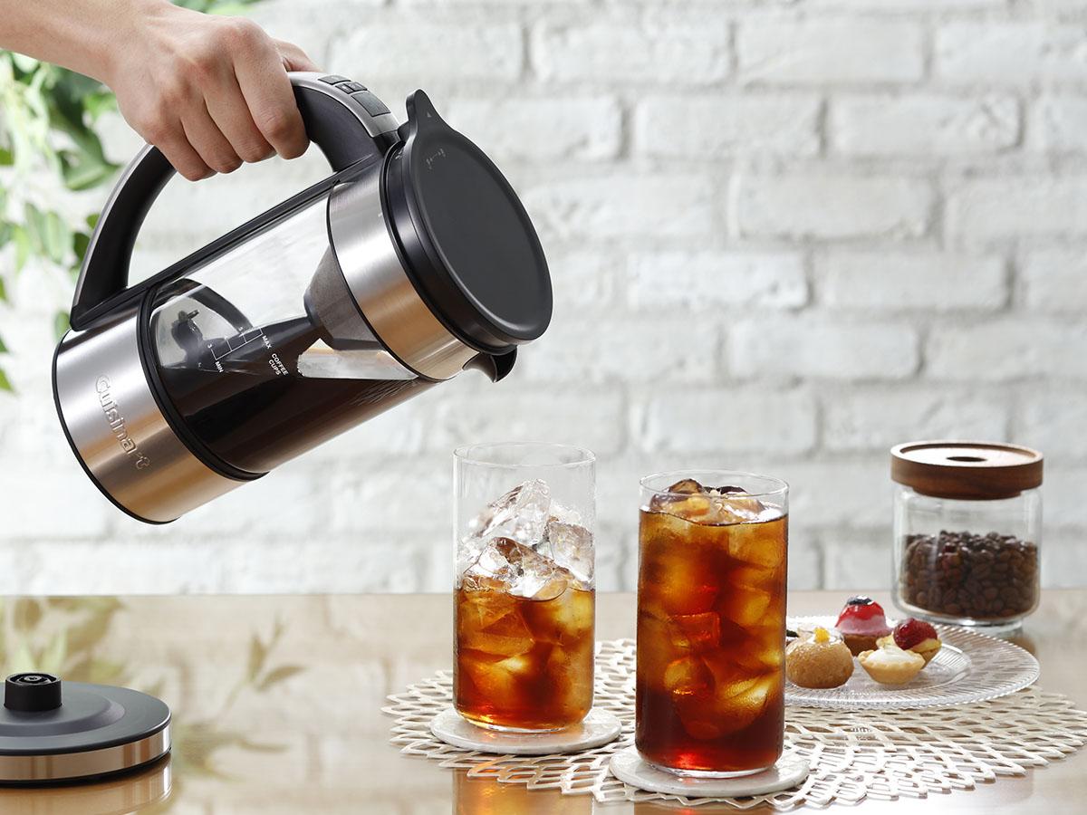コールドブリューが淹れられる! プロの焙煎家が認めるクイジナートの「ファウンテンコーヒーメーカー」の魅力とは?