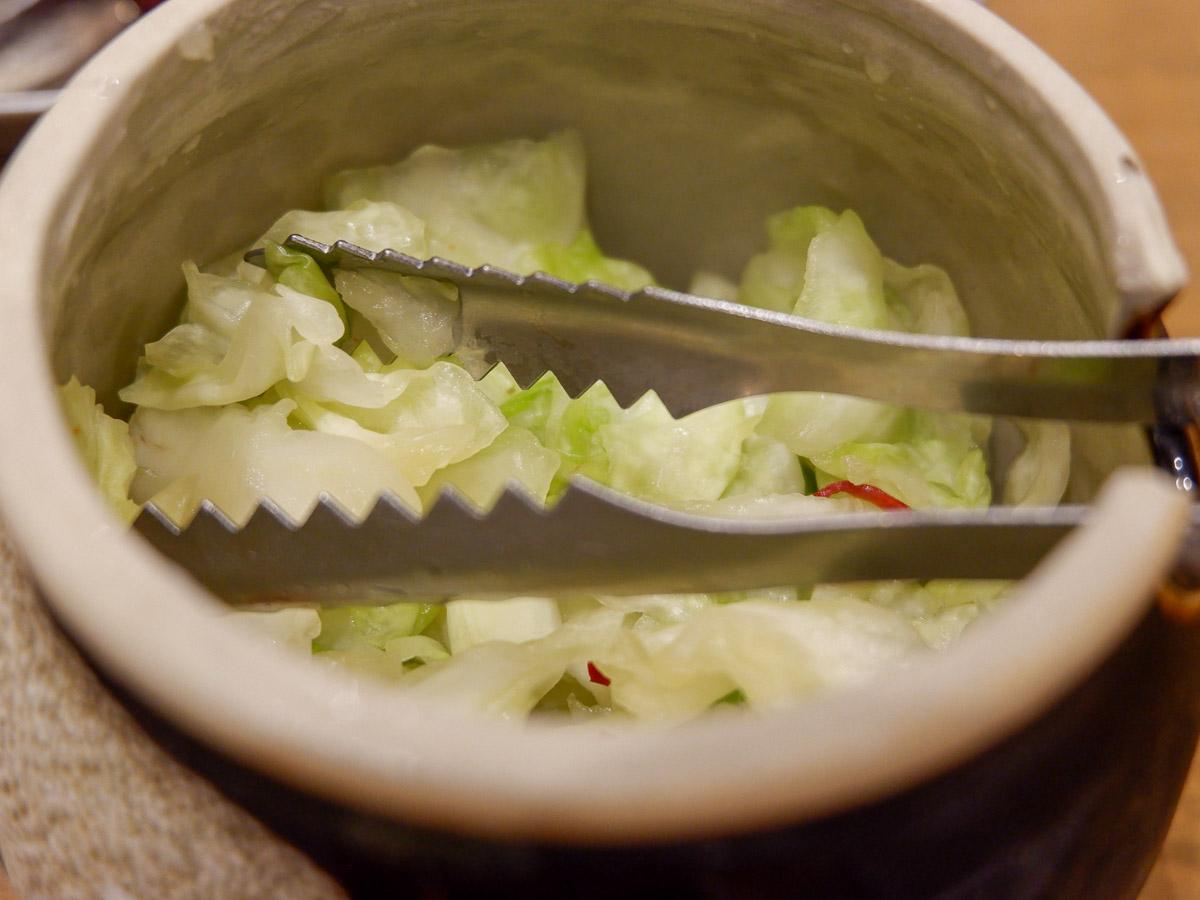 塩もみキャベツはご飯によく合う!