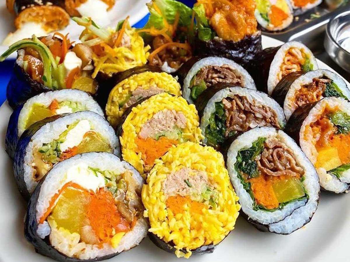 カラフルで旨い! 東京初上陸の韓国海苔巻き専門店『GIMBAP・ONE』の注目キンパ3選