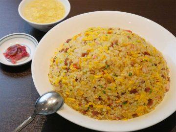 チャーハンが1kg!? 一度は食べてみたい『中国料理はくぶん』(信濃町)の「メガ炒飯」とは?