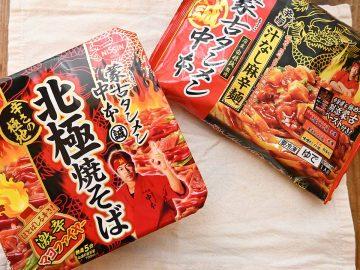 激辛&痺れが脳天直撃! 蒙古タンメン中本監修「北極焼きそば」と「汁なし麻辛麺」を食べ比べてみた