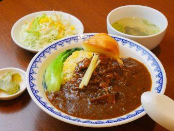 全てが規格外に旨い!『中国料理 翠』(市ヶ谷)の「カレーチャーハン」が絶品すぎるワケ