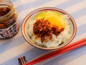 「卵かけご飯」にトッピング