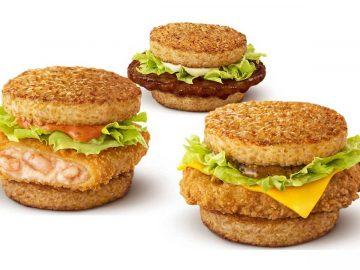 大人気バーガーが帰ってきた!『マクドナルド』の「ごはんバーガー」3選