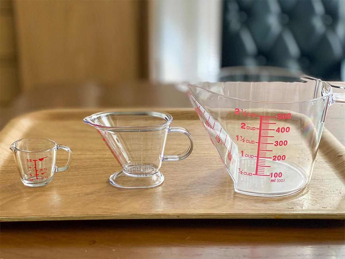 ダイソーの計量カップとワンハンドミルは計るのが楽しくなる神アイテムだった!