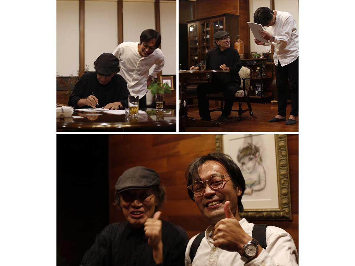 吉田類氏が名付け親となり、吉田真直として酒場をめぐっていく