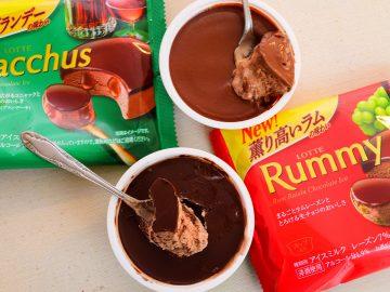 【食べ比べ】冬限定チョコ「ラミー」&「バッカス」のアイスはどっちが旨い?